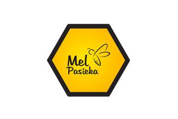 Pasieka Mel – logo dla pasieki