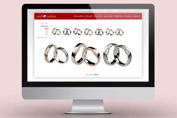 Strona internetowa Red Rubin