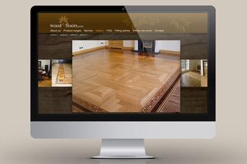 Strona Wood&Floors / projektowanie stron www