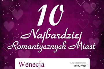 10 najbardziej romantycznych miast