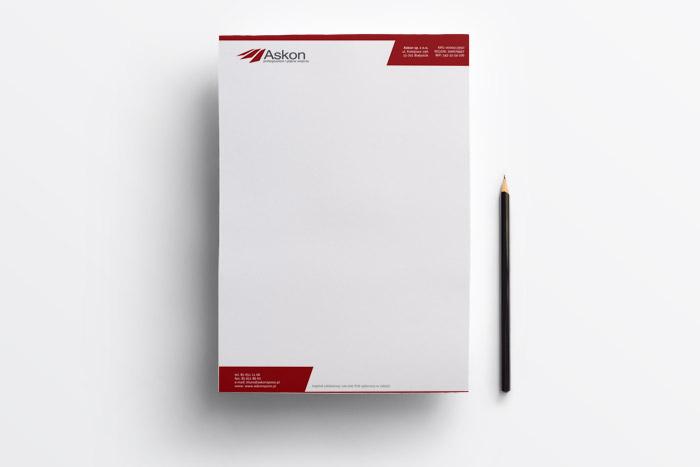 papier firmowy Askon