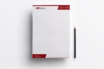 Papier firmowy – Askon