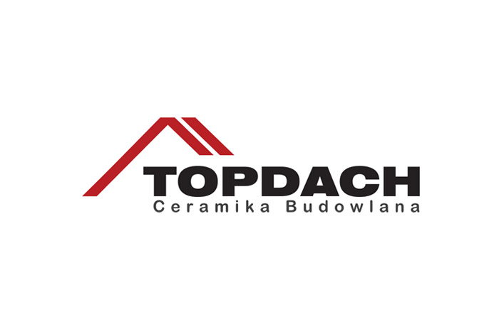 logo dla firmy budowlanej TOPDACH