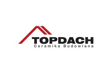 Topdach – logo firmy budowlanej