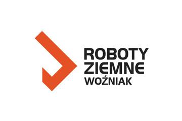 Projekt logo ROBOTY ZIEMNE WOŹNIAK
