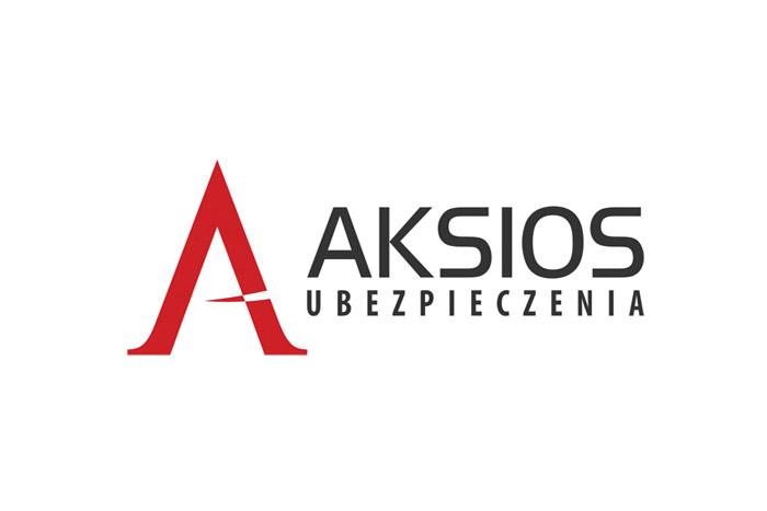 projekt logo dla firmy ubezpieczeniowej AKSIOS