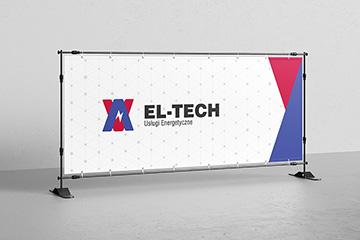Logo dla firmy energetycznej EL-TECH