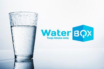 WaterBOX / projekt logo oraz strony internetowej