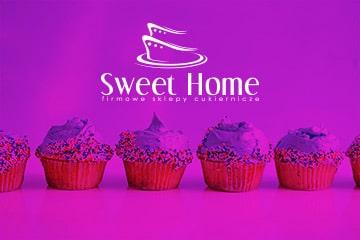 Sweet Home / projekt logo dla cukierni