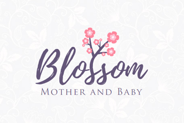Blossom Mother and Baby – logo dla sklepu internetowego