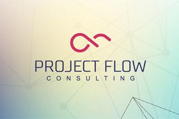 PROJECT FLOW – logo dla firmy konsultingowej