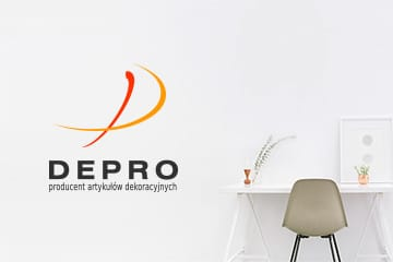 Depro – logo dla firmy dekoracyjnej