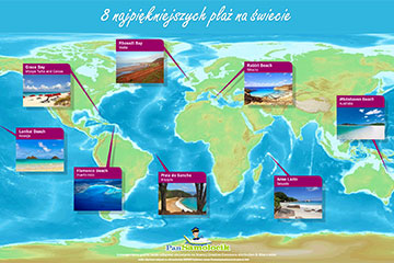 8 najpiękniejszych plaż na świecie