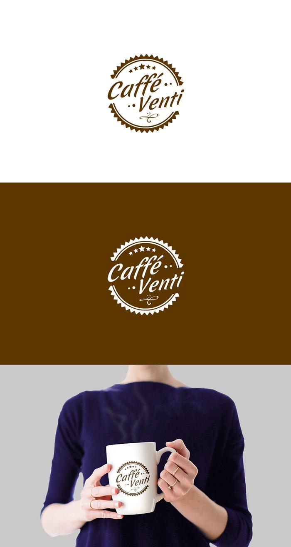 logotyp dla kawiarni