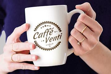 Caffe Venti – logotyp dla kawiarni