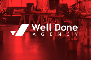 Welldone Agency – logo dla agencji marketingowej