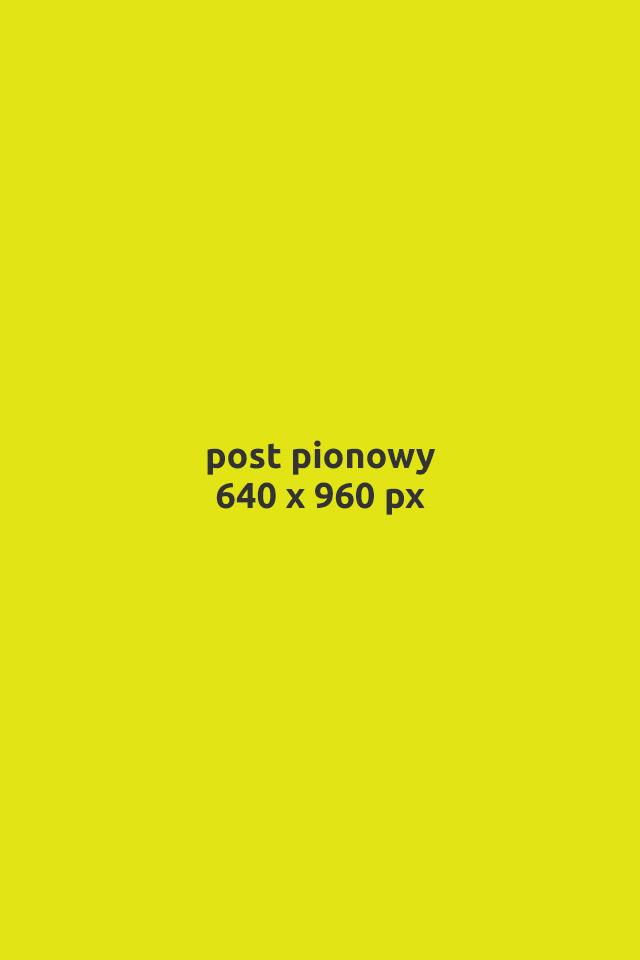 post pionowy