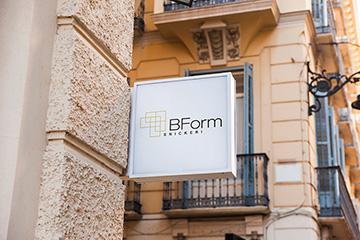 BForm SNICKERI – projekt logo