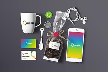 HSEQ – logo oraz identyfikacja wizualna dla firmy konsultingowej/szkoleniowej