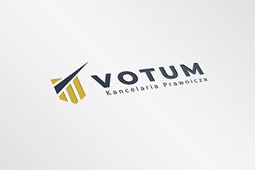 VOTUM – projekt logo dla kancelarii prawniczej