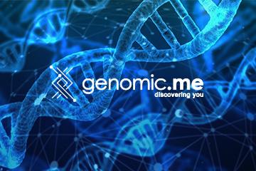 Genomic.me – projekt logo dla branży medycznej