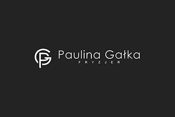 Paulina Gałka logo dla salonu fryzjerskiego