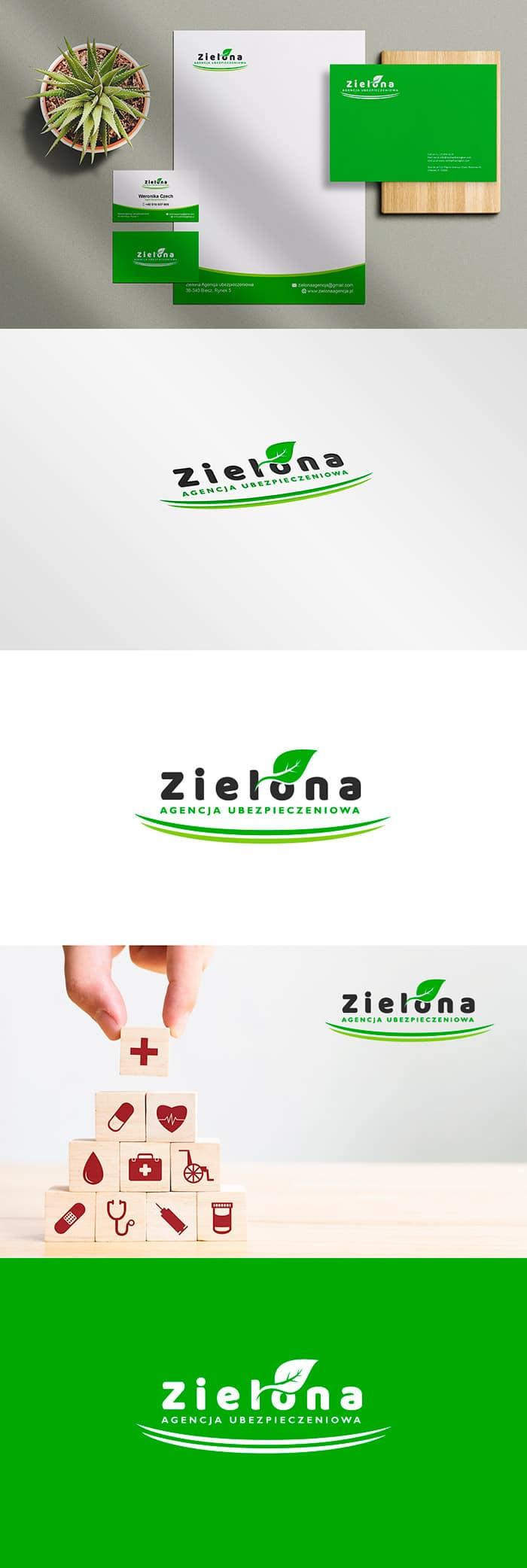Tworzenie logo dla Agencji Ubezpieczeniowej