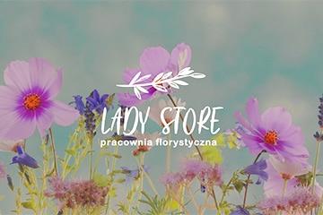 LADY STORE – logo dla firmy florystycznej