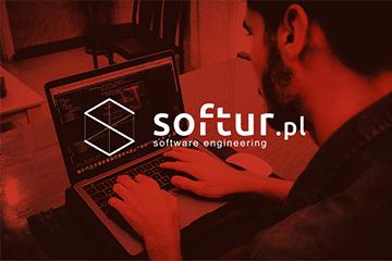 softur – logo dla firmy programistycznej