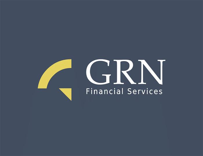 logo dla firmy finansowej GNR