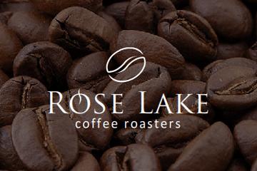 Rose Lake – projekt logo dla palarni kawy
