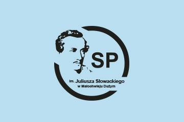 Logotyp dla Szkoły Podstawowej w Małochwieju Dużym