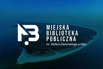 MIEJSKA BIBLIOTEKA PUBLICZNA w Helu – projekt logo