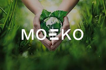 MOEKO – projekt logotypu / strony www