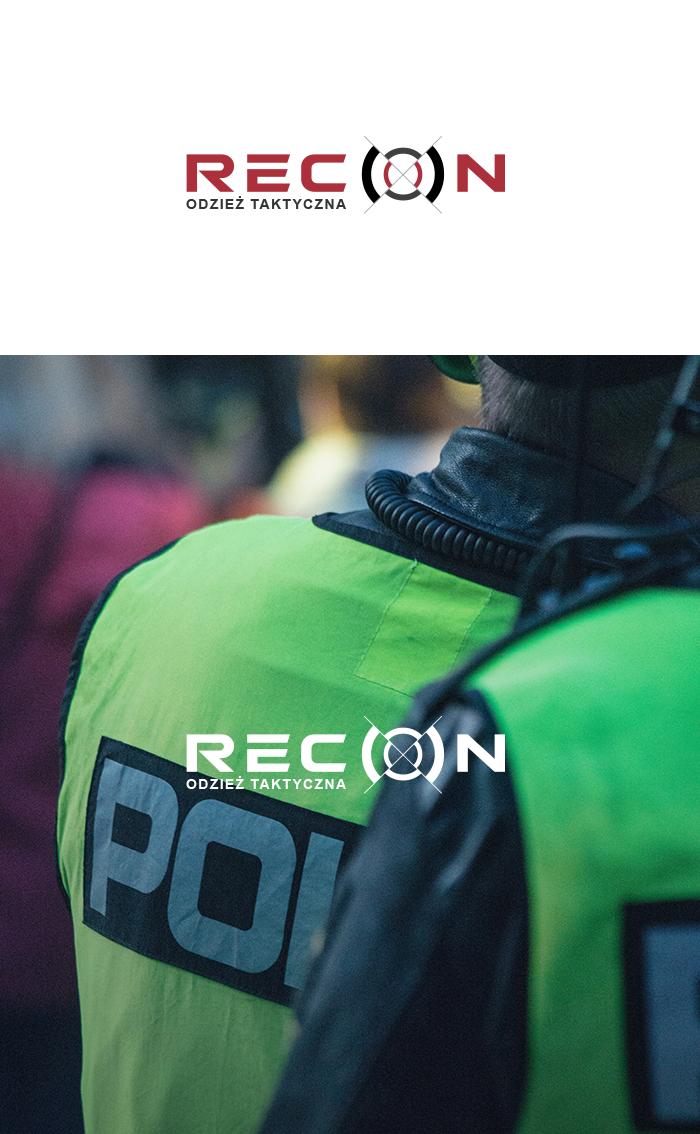 logo dla firmy RECON