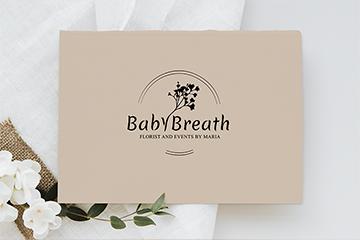 BabyBreath – projekt logo dla firmy florystycznej